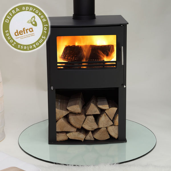 Westfire Series Two 7.1kw Pedestal Defra Approved Stove