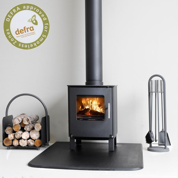 Westfire Series One 4.9kw Defra Approved Wood Burning Stove