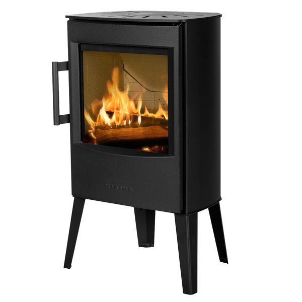 Wiking Mini 2 4.5kw Defra Wood Burning Stove With Long Legs