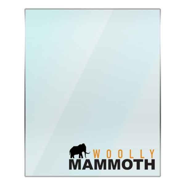 Woolly Mammoth Replacement Stove Glass - Various Models