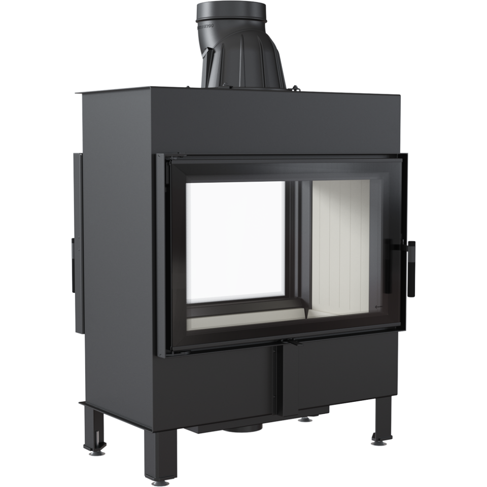 Kratki Lucy 14 14kw Double Sided Inset Wood Burning Stove - LUCY/14/T