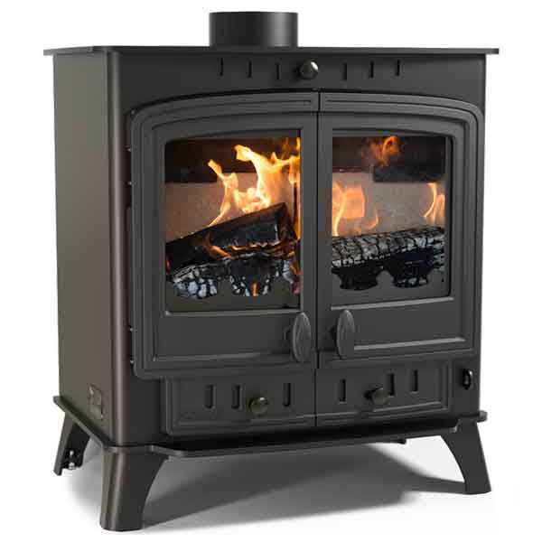 Villager 12 Duo 11.7kw Multifuel Wood Burning Stove