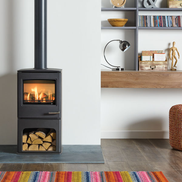 Yeoman CL5 Midline 3.5kw LPG Gas Stove With Top Exit - For Balanced Flue