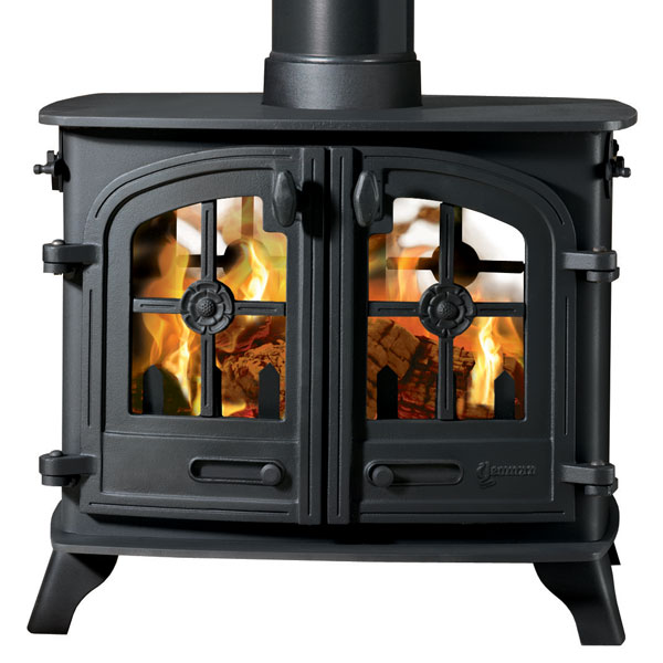 Yeoman Exe 11kw Wood Burning Stove - Double Doors, Double Sided, Double Depth